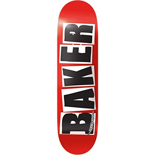 Baker Skateboard Brand Logo Black 8.475 x 31.875