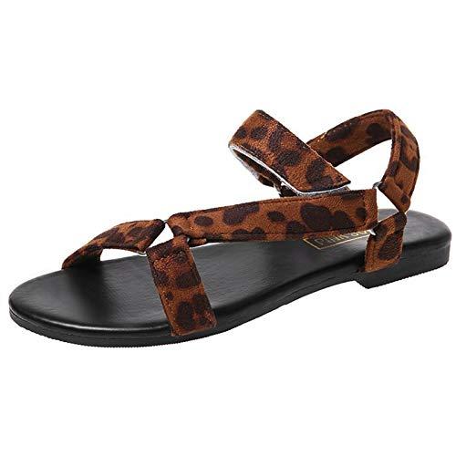 여자의 패션 꼰 크리스 크로스 스트랩 화이트 컬러 검투사 플랫 샌들 신발