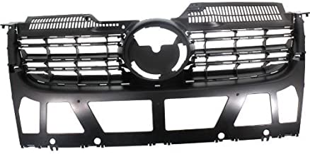 Go-Parts - OE Replacement for 2009 Volkswagen Jetta Grille Assembly - (CAPA Certified) VW1200139C VW1200139C Replacement For Volkswagen Jetta