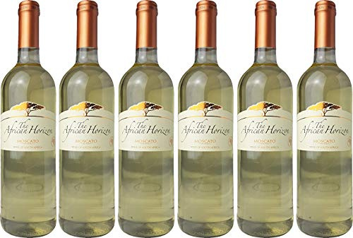 2020 African Horizon Moscato Sweet Westkap 6x 0,75 l