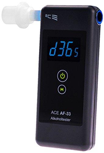 ACE Alkoholtester AF-33, TU-Wien-Messgenauigkeit: 97,9% - Polizeigenau