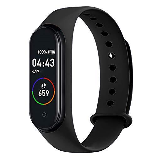 Doneioe M4 Intelligent Watch Sports BT Orologio da Polso Impermeabile Pressione sanguigna Monitoraggio frequenza cardiaca Fitness Watch