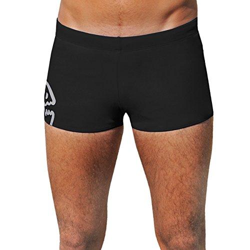 IQ UV Schutzkleidung Herren Badehose Shorts, Schwarz (black), Gr. L