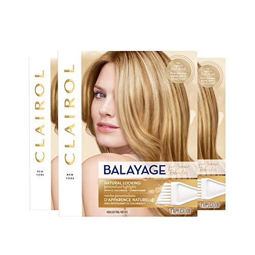 Price comparison product image Clairol Nice'n Easy Balayage Permanent Hair Color,  Blondes,  3 Count