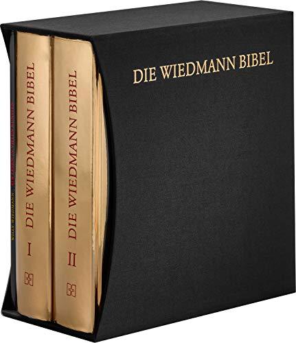 Bibelausgaben, Deutsche Bibelgesellschaft : Die Wiedmann Bibel - Premium-Edition, m. Illustrationen + Ergänzungsband
