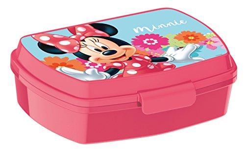 ALMACENESADAN 2087, Sandwichera Figura Disney Minnie Mouse; Dimensiones 16,5x11,5x5,5 cm
