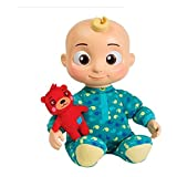 image of JJ bedtime toy from the cocomelon brand, one of our picks of present for 2 year old