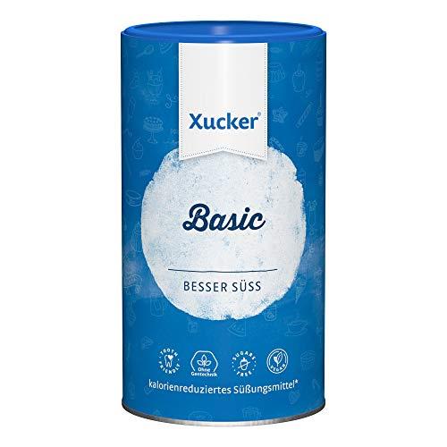 Xucker Basic 1kg kalorienreduzierte natürliche Zuckeralternative - Xylit - vegan, glutenfrei, nachhaltig und zahnfreundlich