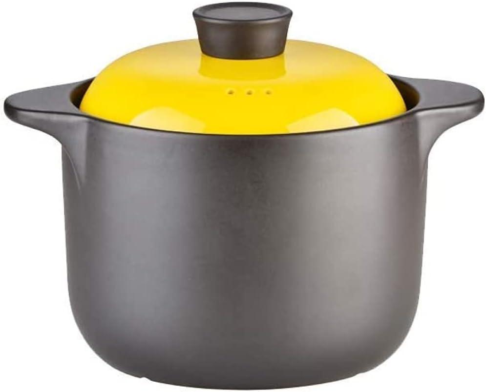 Kitchen service Stoneware Tucson Mall Cooking Pot Tureen Casserole Dish with Li Soup