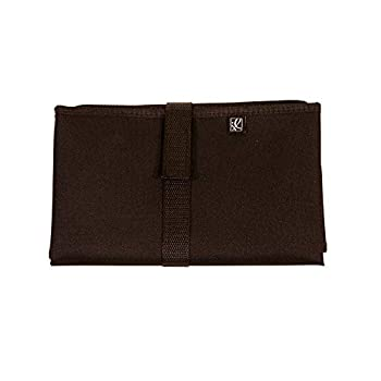 J.L Childress Full Body Portable Baby Changing Pad Fully Padded for Baby s Comfort Waterproof Opens to 19  X 30  Black