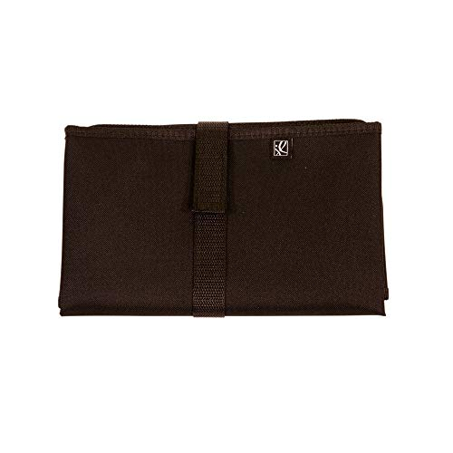 J.L. Childress Full Body Portable Baby Changing Pad, Fully Padded for Babys Comfort, Waterproof, Opens to 19 X 30, Black