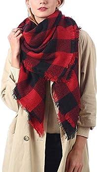 Gnpolo Women's Oversized Blanket Scarf