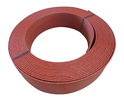 TM Beeteinfassung - Rasenkante - Randband ca.14 cm hoch x 25 m lang, Farbe rot