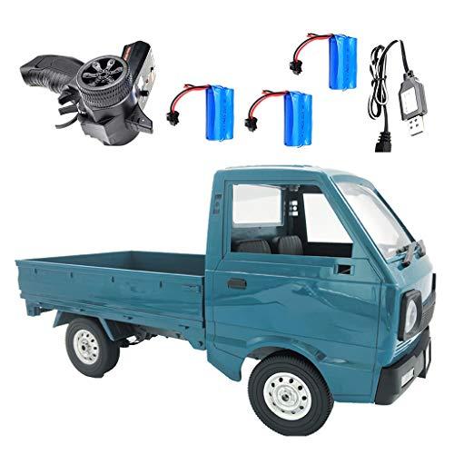 Wr Control Remoto inalámbrico 2.4G 1:10 D12Y Camioneta, tracción en Las Cuatro Ruedas Drift 4WD Puente Trasero Derecho RC Car Rock Crawler Car, Regalo de cumpleaños para niños