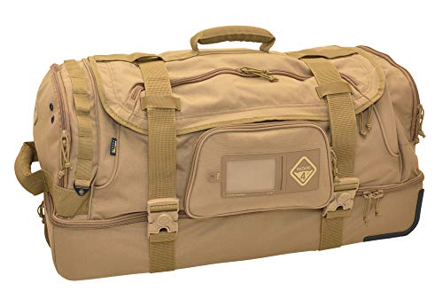 New HAZARD 4 Shoreleave 2020 Version: Compartmentalized Rolling Luggage - Coyote
