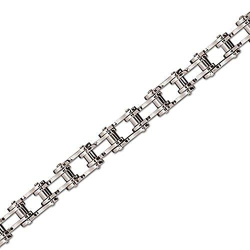 etNox - Armband ''Bike Chain'' Edelstahl 19 cm (SA009)