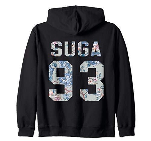 Official BTS Suga 93 Kpop Bangtan Boys Merchandise BTS11FLR Zip Hoodie