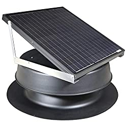 Solar Attic Fan 36-watt - Black
