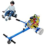 Camelmother Hoverboard Seat Attachment Transform Your Hoverboard into Go Kart for Kids or Adults,Adjustable Hoverboard Accessories for Self Balancing Scooter