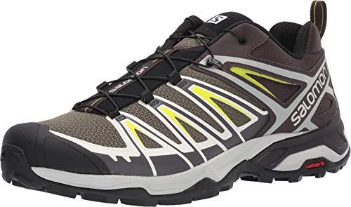 Salomon Shoes X Ultra, Chaussures de randonnée Homme, Multicolore (Olive Brûlé/Shale/Lime Acide), 42 EU