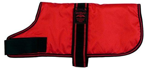 ANIMATE Abrigo para Perro, Acolchado, de 40,6 cm, Color Rojo