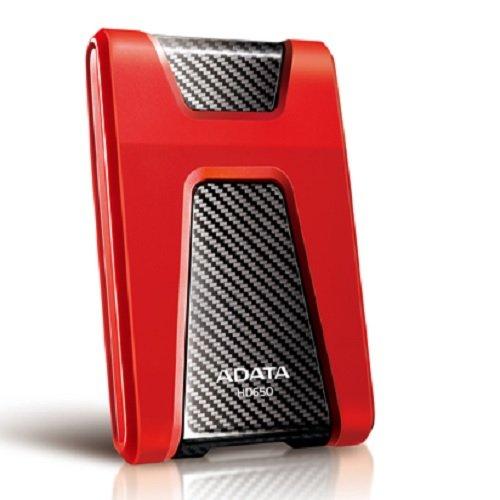 ADATA AHD650-500GU3-CRD DashDrive Durable HD650 Externe Festplatte 500GB (6,4 cm (2,5 Zoll), USB...