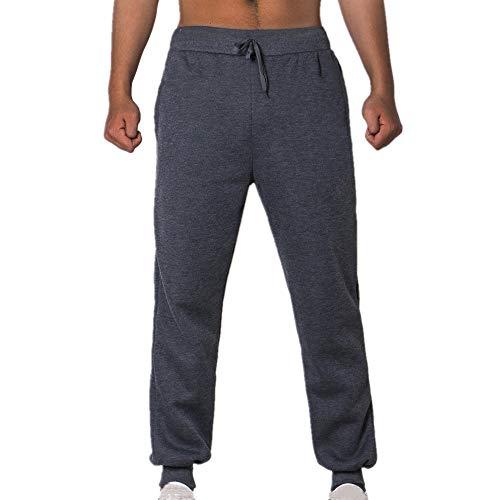 N\P Pantalones casuales de los hombres sueltos grandes pantalones de primavera tamaño de los hombres ropa