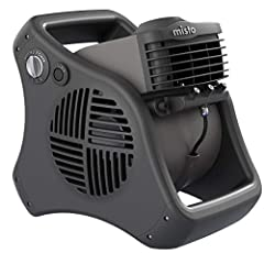 3 Refreshing Speeds - makes this small but powerful blower fan ideal for the outdoors. The powerful blower provides a cool breeze wherever you need it. Designed with the same concept of large industrial blowers the Misto fan provides high power air i...