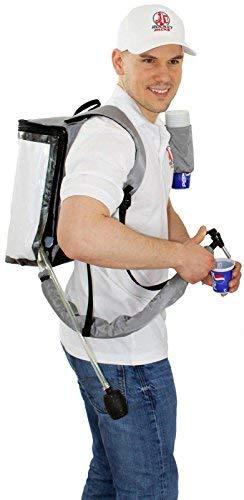 Bier Rucksack 5 Liter Getränke Rucksack (mit Pumpe)
