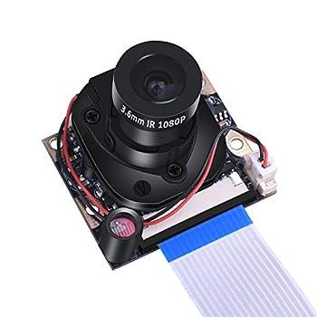 Kuman カメラモジュール Raspberry Pi用 日中/夜間モード ズームレンズ