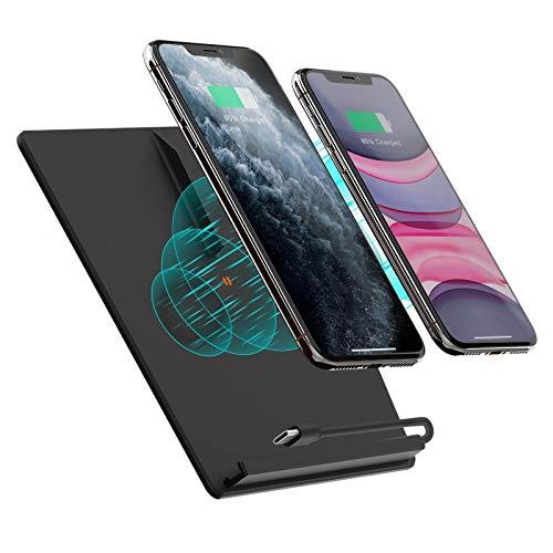 TapTes Wireless Phone Charger (Gen2) für Tesla Model 3 hergestellt vor Juni 2020 Teala Model 3 Accessories Wireless Charging Pad kompatibel mit iPhone 12/12pro/11/Samsung