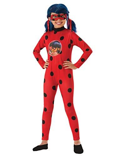Rubie's France Coffret déguisement Classique Ladybug Fille - 9 à 10 Ans (129 à 140 cm)