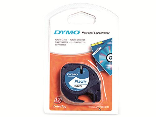 Dymo LetraTag Plastic Label Tape