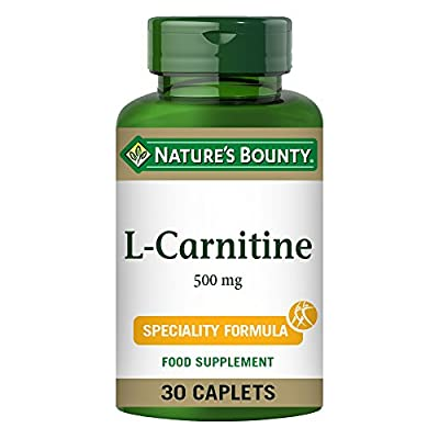 Nature's Bounty L-Carnitine 500 mg Caplets - Pack of 30