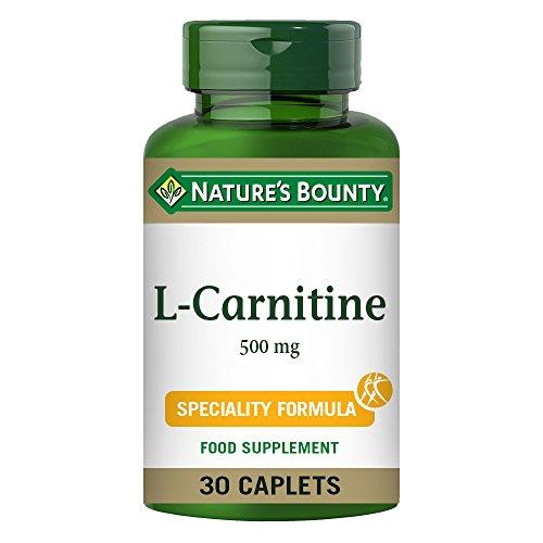 Nature's Bounty L-Carnitina 500 mg cápsulas – Pack de 30