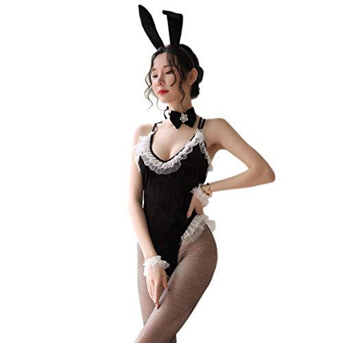 RONGYEE - Disfraz de conejo sexy para mujer - - Talla nica