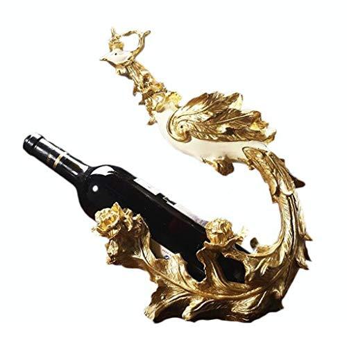 Soporte organizador de botelleros Phoenix oblicua inserción estante del vino decoración minimalista gabinete del vino Home Living habitaciones Nordic creativo del estante de exhibición Estantes de exh