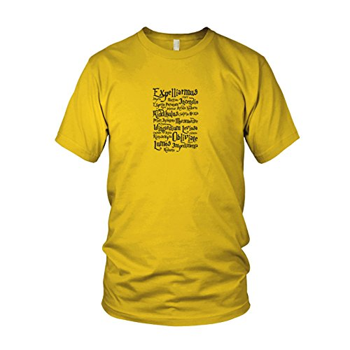 Expelliarmus - Herren T-Shirt, Größe: L, Farbe: gelb