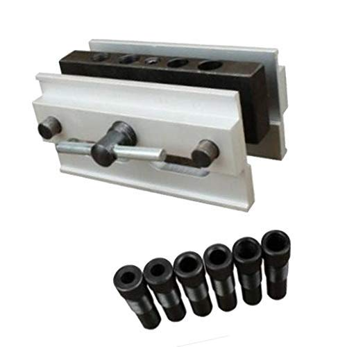 Self Centering Dowel Jig Professional Wide Capacity Wood Dowel Hole Drilling Guide Woodworking Positioner Locator