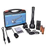 TrustFire T70 - Kit de linterna de caza de noche, 2300...