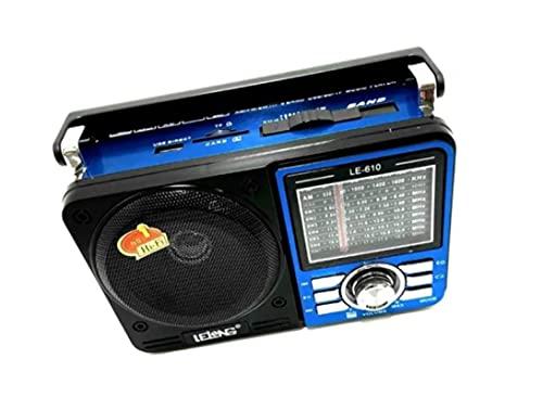 Rádio Am/Fm Retro C/Sd/Tf/Usb/Aux Lelong - Le-610