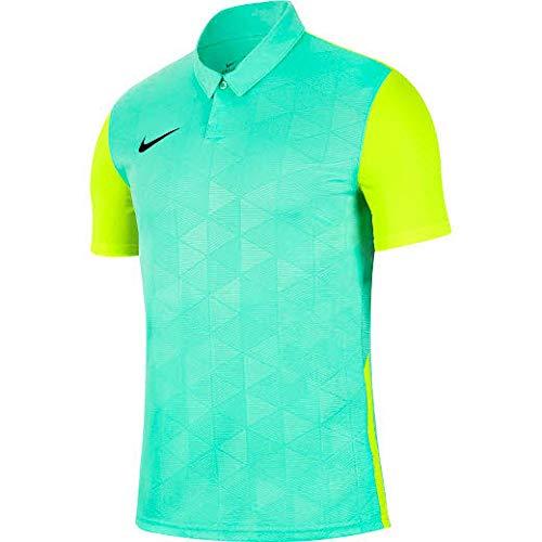 NIKE Trophy IV Jersey SS Camiseta, Hombre, Hyper Turq/Volt/(Negro), XX-Large