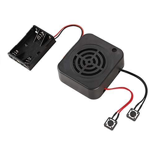 ASHATA Soundmodul Gruß-Modul, Stimme Aufzeichnung Wiedergabe Module Soundaufzeichnungschip DIY Karte,Aufnahmebox Sound Chip Modul DIY Musik Audio Karten für Kinder Geschenk Spielzeug(4 Minuten)