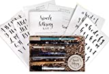 Brush Lettering Calligraphy Kit • Award-Winning Starter Set for Beginners • Includes Instruction...