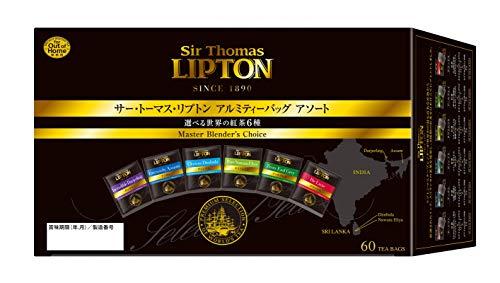サー・トーマス・リプトン 6種アソート アルミティーバッグ ×60袋