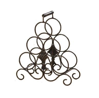 Unbekannt Meubles, décoration - Porte-Bouteilles ou comptoir - Style: Rustique - Couleur: Marron - matériel: Fer laqué - Environ 37 cm