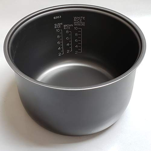 Zojirushi Replacement Nonstick Inner Cooking Pan for Zojirushi NS-TSC18/NL-AAC18 (10 Cup Model) Rice Cooker