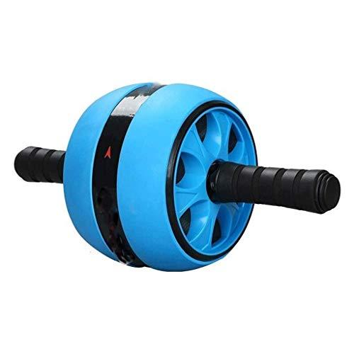 YDHWT Bauchmuskel-Rad - Rad-Rolle, Core Training Roller Bauchtraining Ausrüstung Sport und Fitness Rad zu Hause mit Kniepolstern für