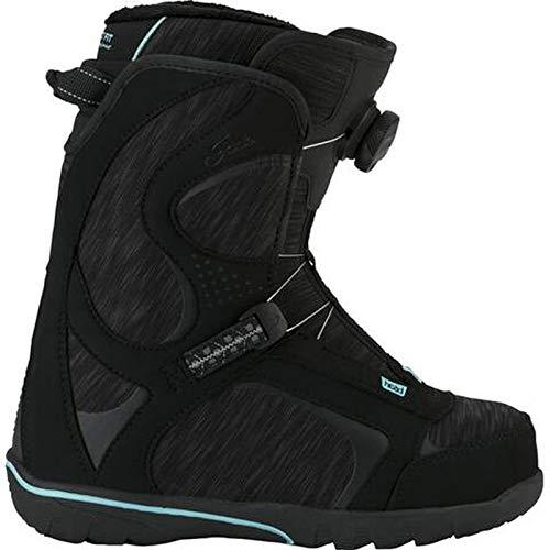 HEAD Jade LYT Boa, Zapatillas para Caminar para Hombre, Negro/Turquesa, 39 EU