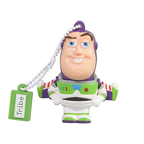 Clé USB 8 Go Buzz Lightyear - Mémoire Flash Drive 2.0 Originale Disney, Tribe FD027406